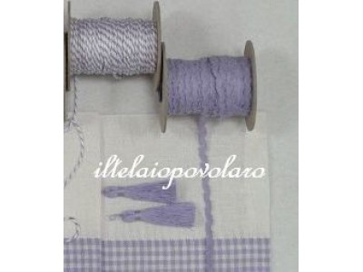 nappina in lino cm. 5,5 lavanda