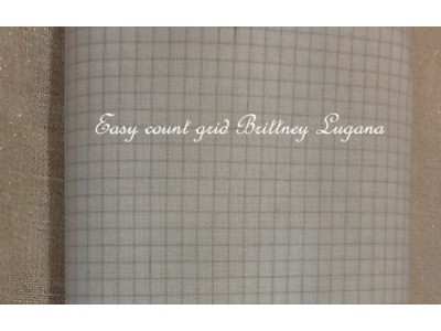 1 Easy Count grid Brittney Lugana avorio 28 ct