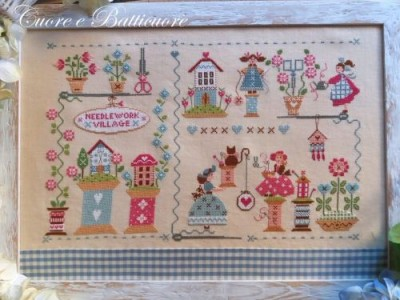 Needlework Village 270 x 170